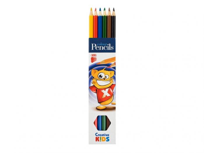 Creioane Color 6 Buc / Set 0