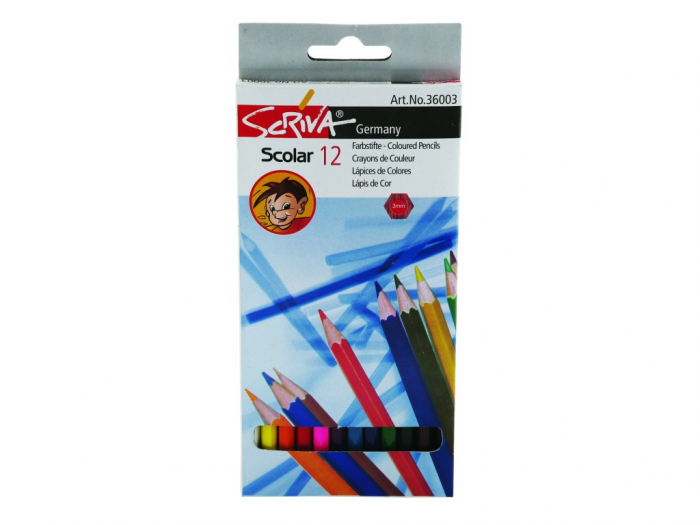 Creioane Color 12 Buc / Set 0