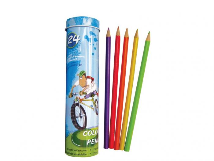 Creioane Color Triunghiulare Lambo School 24/Set 0