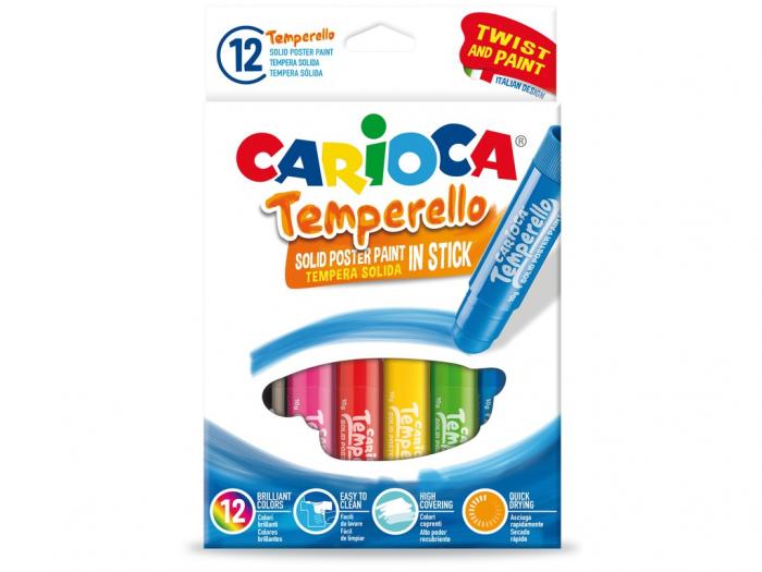 Creion Tempera Temperello 12/Set 0