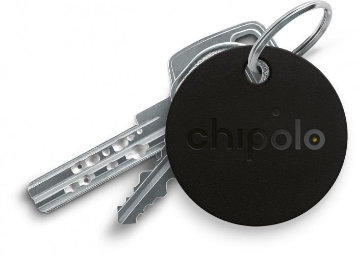 Resigilat - Dispozitiv De Localizare Prin Bluetooth Chipolo Clasic Negru 2