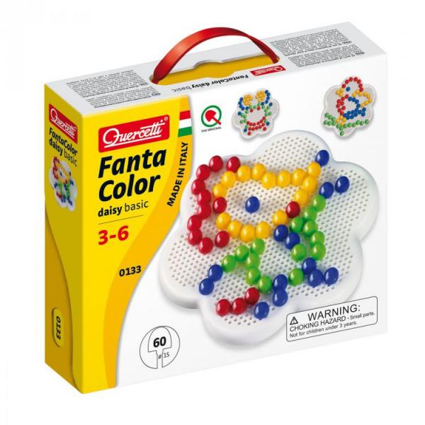 Jucarie Educativa Fantacolor Daisy Basic 60 D15 0
