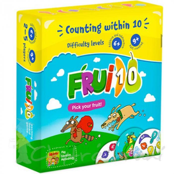 FRUI10 - Joc educativ Invatam numerele de la 1 la 10 si operatiile de adunare / scadere 0