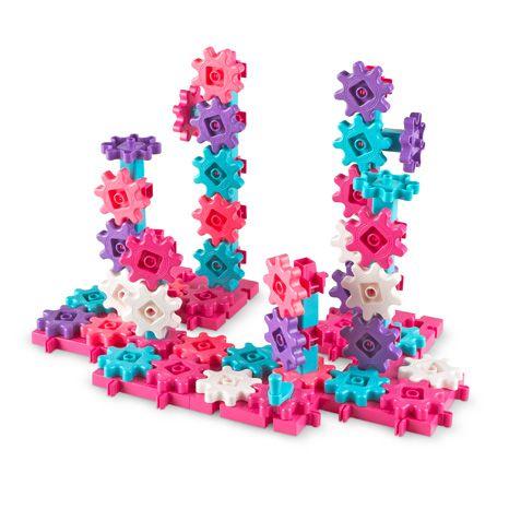 Gears Gears Gears!® Deluxe Building Set In Pink (Set of 100) 0