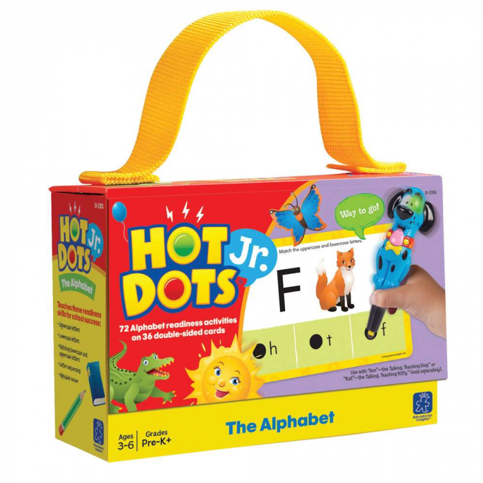 Set de carduri Hot Dots® Jr., Alfabetul 0