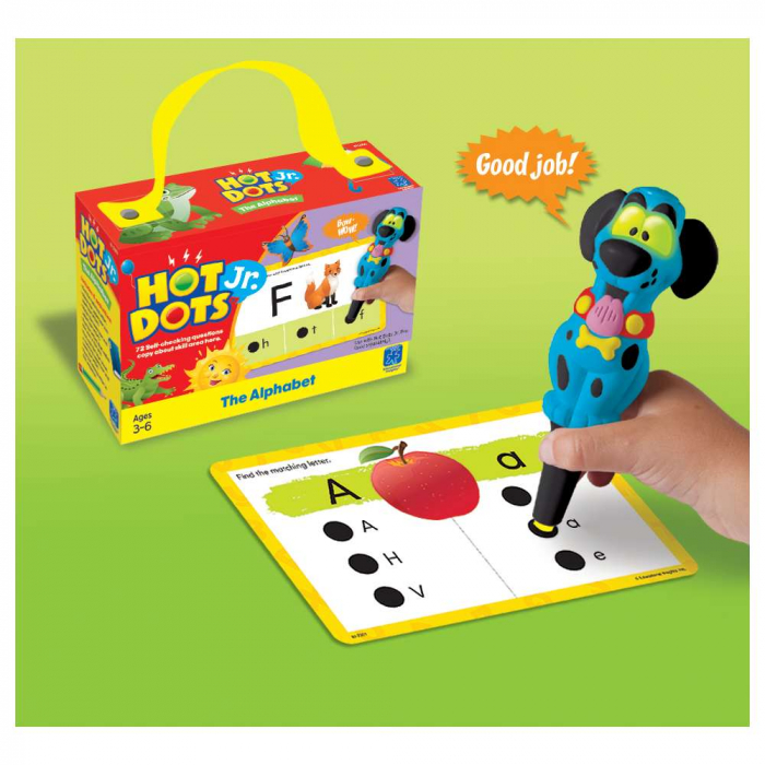 Set de carduri Hot Dots® Jr., Alfabetul 1
