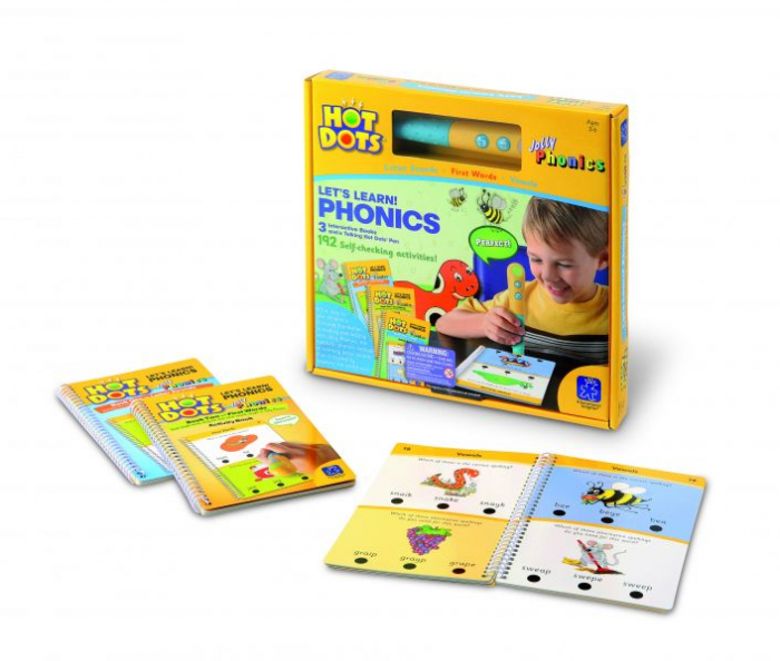 Hot Dots® Let's Learn! Jolly Phonics Set 2