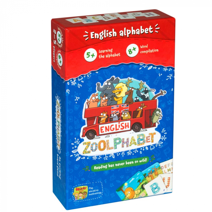 Joc Educativ Invatam Alfabetul limbii engleze - Zoolphabet 0