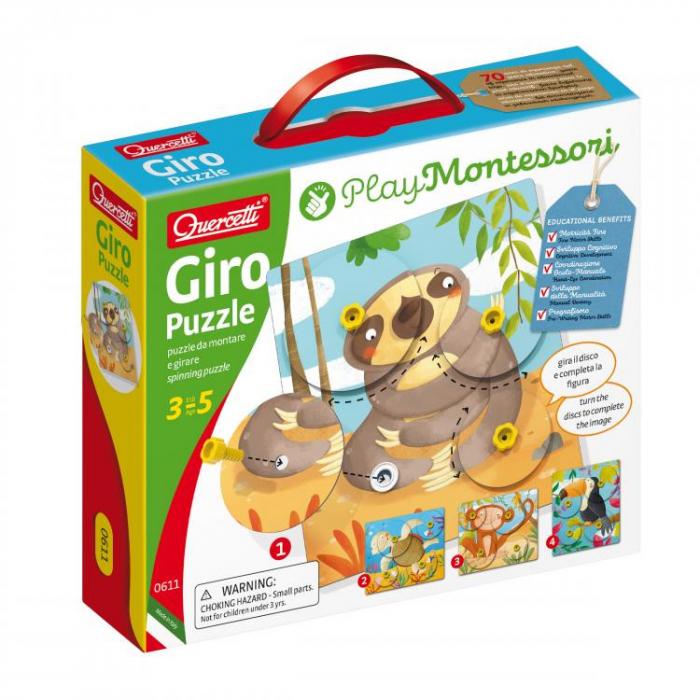 Joc Giro Puzzle Montessori 0