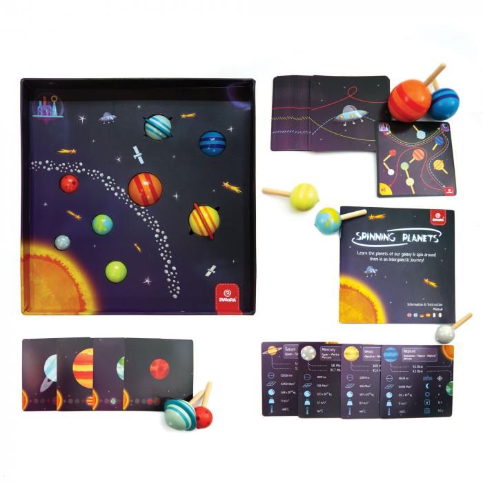 Joc Invatam Planetele si informatii despre Sistemul Solar 4