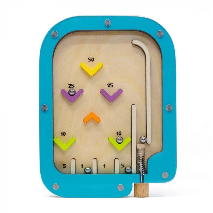 Joc interactiv Pinball din lemn Svoora [2]