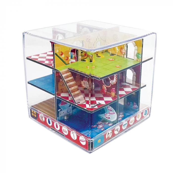 Labirint Din Lemn 3D - The Candy Factory Maze 0