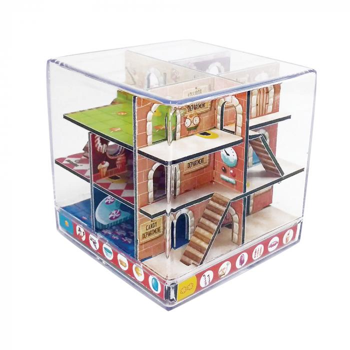 Labirint Din Lemn 3D - The Candy Factory Maze 1