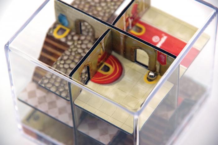 Labirint Din Lemn 3D - The Castle Maze 4