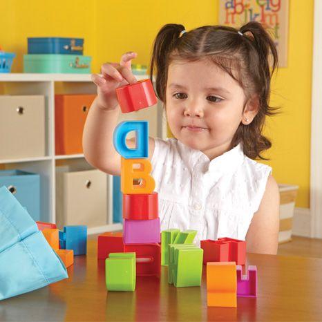 Cuburi Alfabet Letter Blocks 3