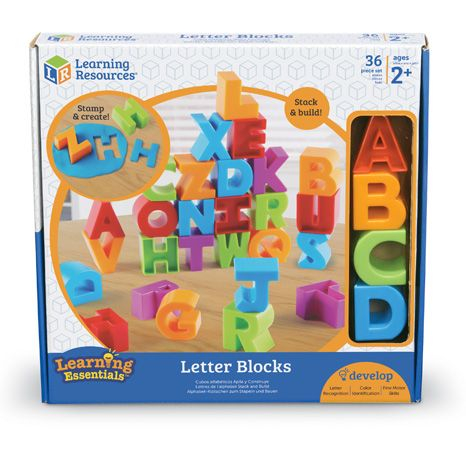 Cuburi Alfabet Letter Blocks 0