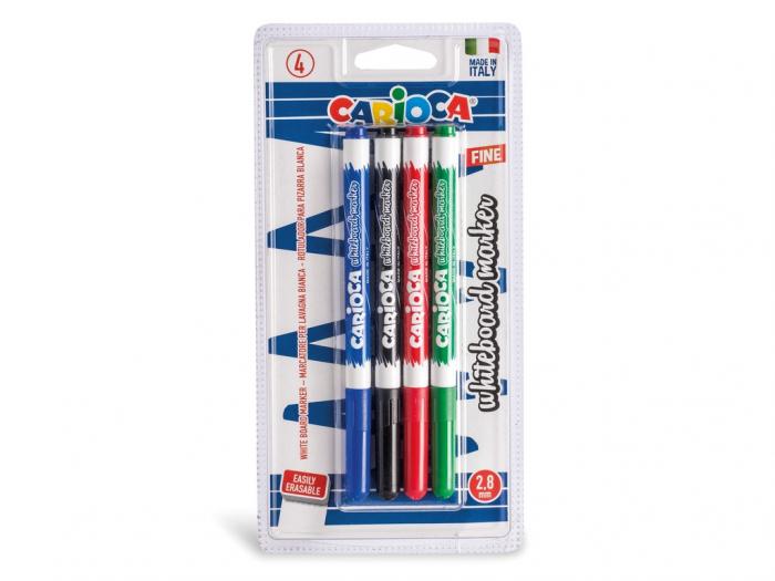Marker Pentru Whiteboard Carioca 4/Set 0