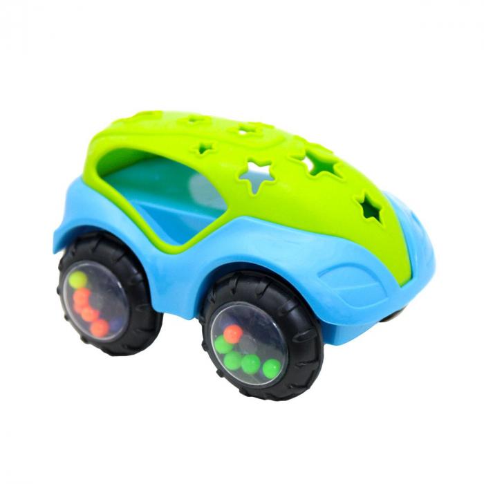 Masinuta Stelute Verde-Bleu 1