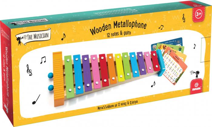 Metalofon De Jucarie Cu 12 Note Pentru Copii 5