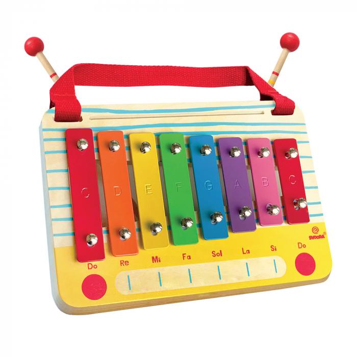 Metalofon De Jucarie Cu 8 Note Pentru Copii 0
