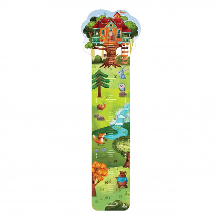 Metru De Perete Pentru Masurat Copii Casuta Din Copac 0