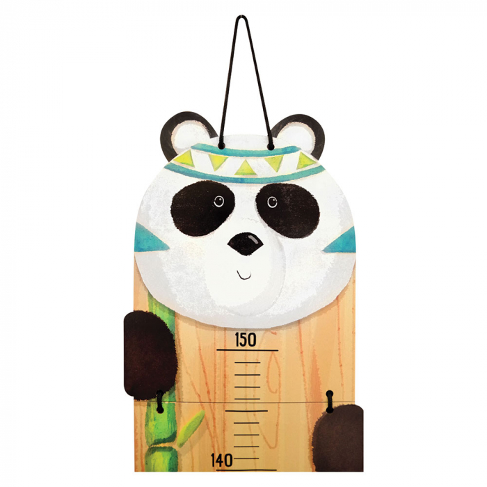 Metru De Perete Pentru Masurat Copii 'Indianimals' - Urs Panda [1]
