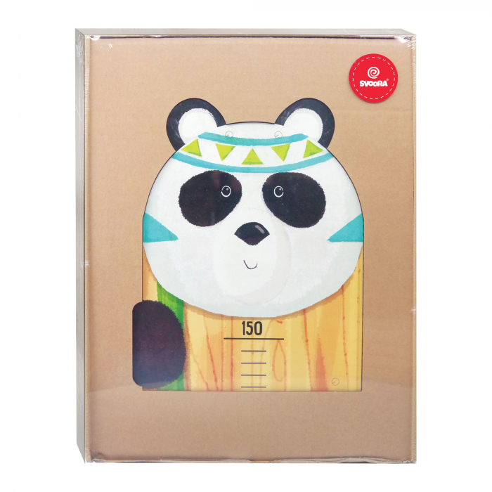 Metru De Perete Pentru Masurat Copii 'Indianimals' - Urs Panda [4]