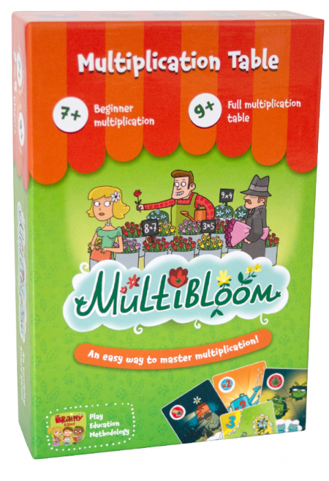 MULTIBLOOM – Joc educativ Invatam Tabla Inmultirii 0