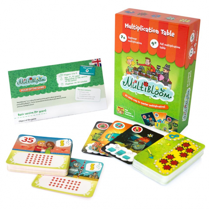 MULTIBLOOM – Joc educativ Invatam Tabla Inmultirii 1