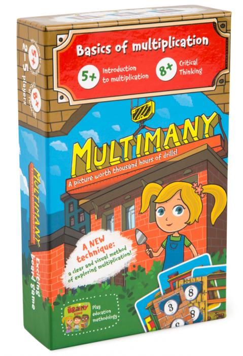 MULTIMANY – Joc educativ Invatam Tabla Inmultirii 0
