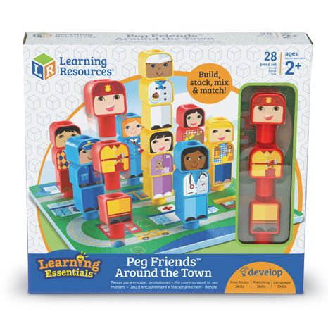 Peg Friends™ Around the Town 1