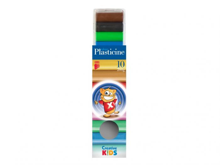 Plastilina Set 10 Culori 0