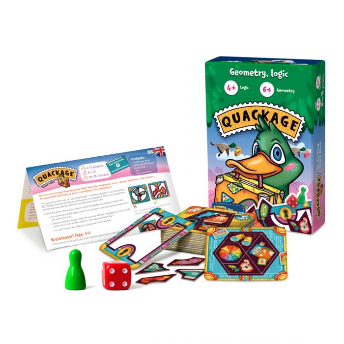 QUACKAGE – Joc educativ Elemente de Geometrie 1