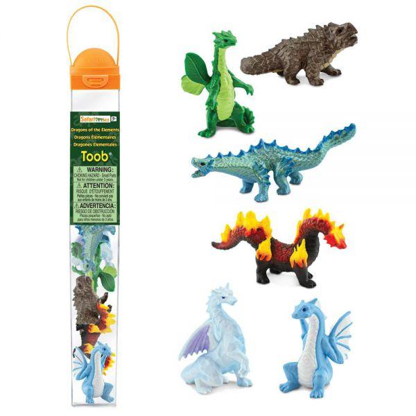 Tub 6 figurine Dragoni Safari Ltd [1]