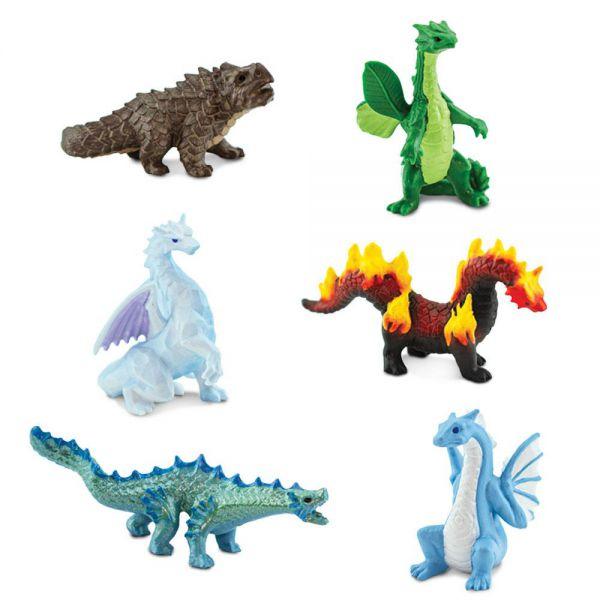 Tub 6 figurine Dragoni Safari Ltd [2]