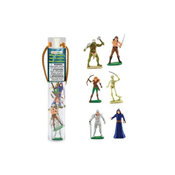 Tub 6 Figurine Eroi si monstri Safari Ltd [0]