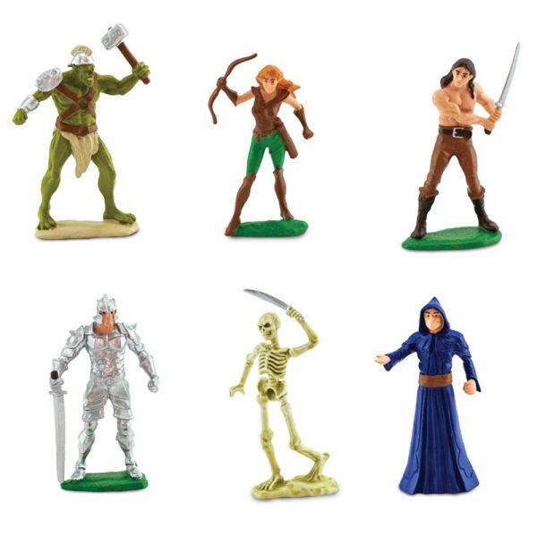 Tub 6 Figurine Eroi si monstri Safari Ltd [1]