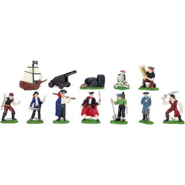 Tub 12 Figurine Pirati Safari Ltd [1]