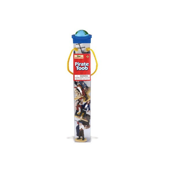 Tub 12 Figurine Pirati Safari Ltd [0]