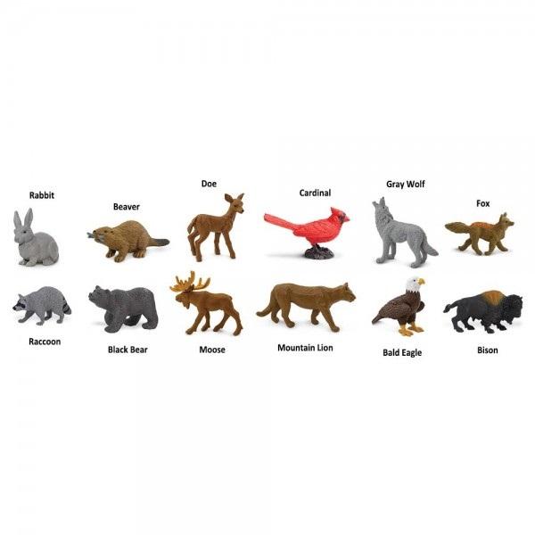 Tub 12 Figurine Animale din Natura 1
