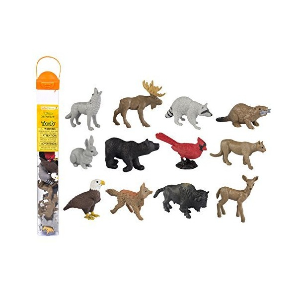 Tub 12 Figurine Animale din Natura 2