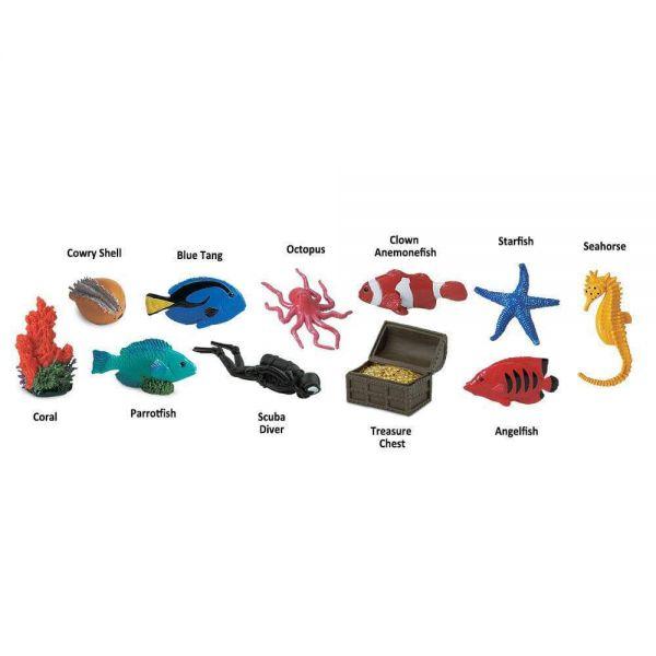 Set 48 figurine Recif De Corali 2
