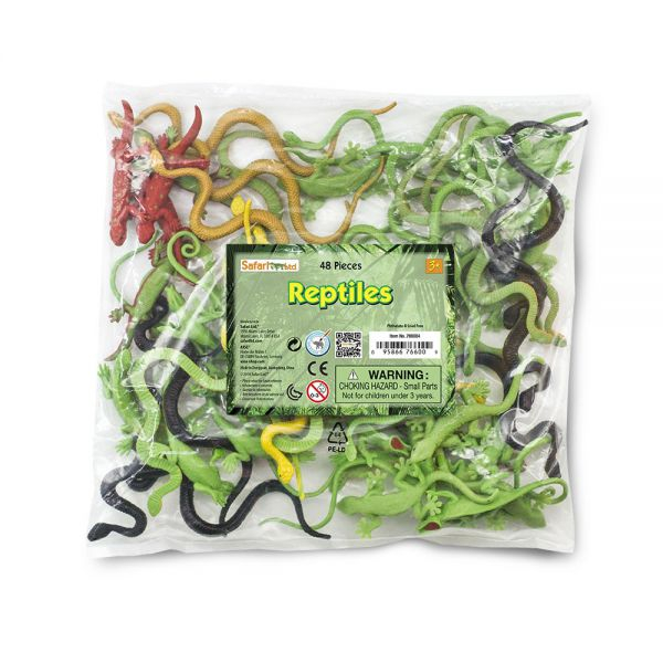 Set 48 figurine Reptile 0