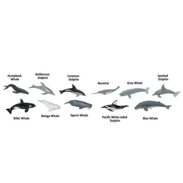 Set 48 figurine Balene si Delfini 1