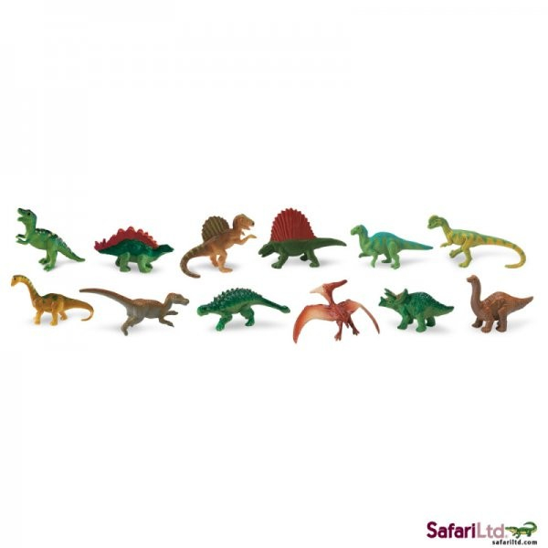 Set 12 Figurine Dinozauri Safari Ltd [0]