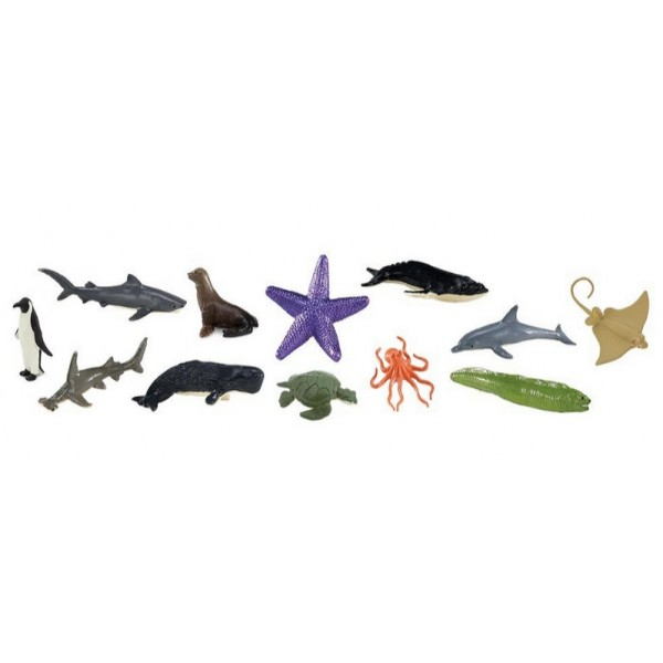 Set 12 Figurine Viata Marina 0