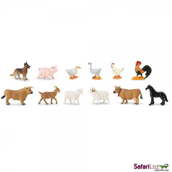 Set 48 Figurine Animale De La Ferma 1