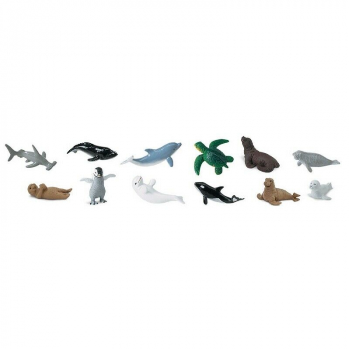 Set 48 Figurine Animale Pui Din Mare 1