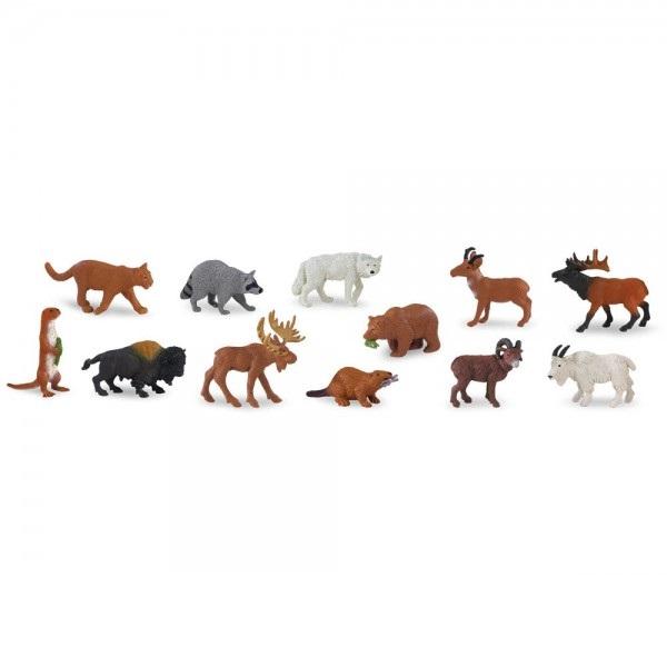 Set 48 Figurine Animale Salbatice 1