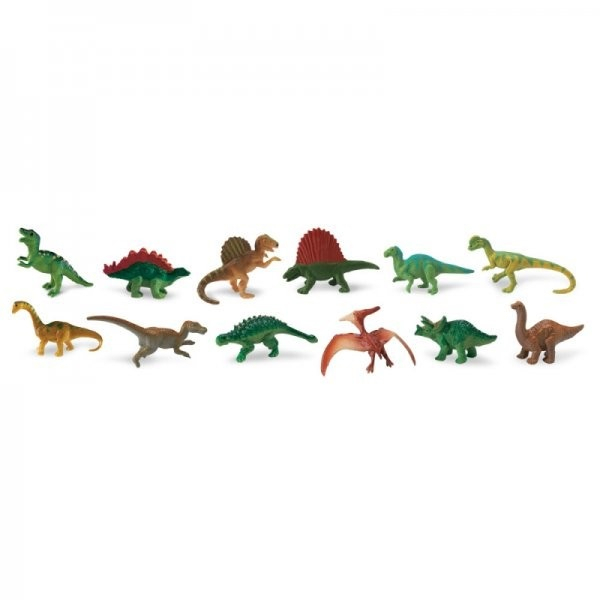 Set 48 Figurine Dinozauri 1